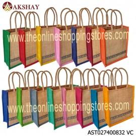 Akshay Jute Bag 832VC Pack of 15